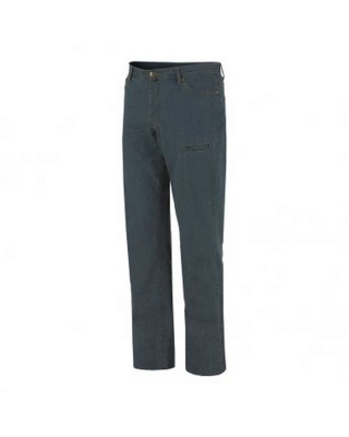 8026 - Pantalone Jeans Indy Stretch - Blu - Leggero Per L'Estate
