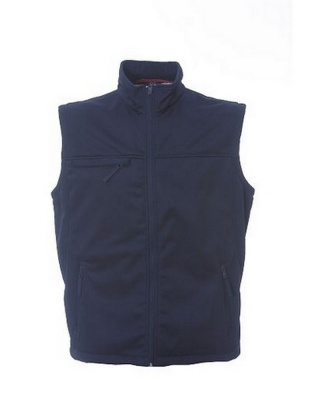 ASPEN - Gilet in soft shell 100% polyestere