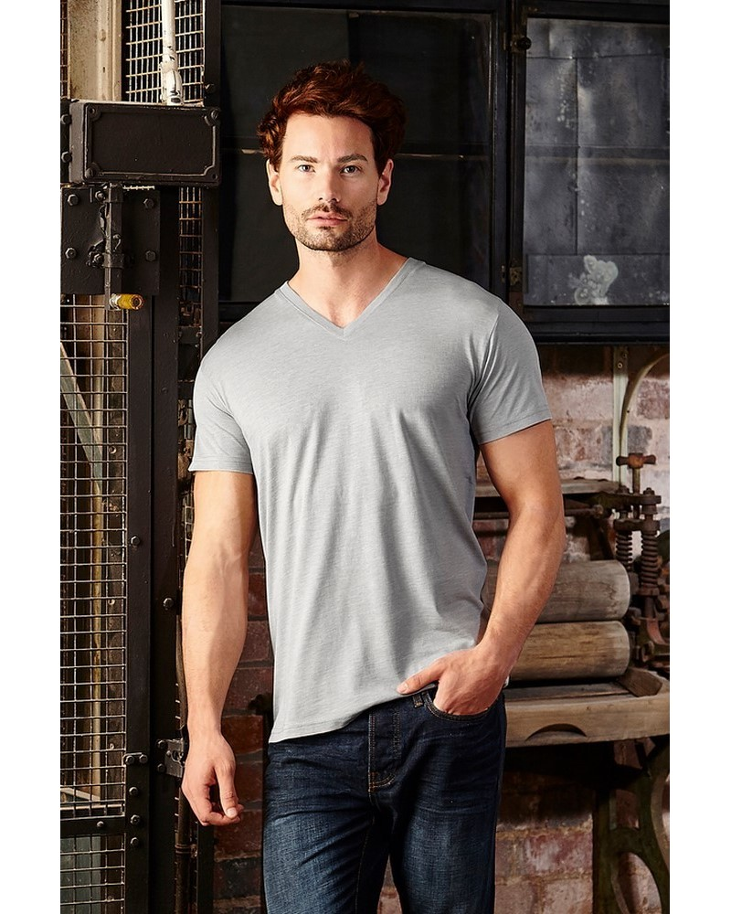 JE166M - T-Shirt Hd T V-Neck Uomo
