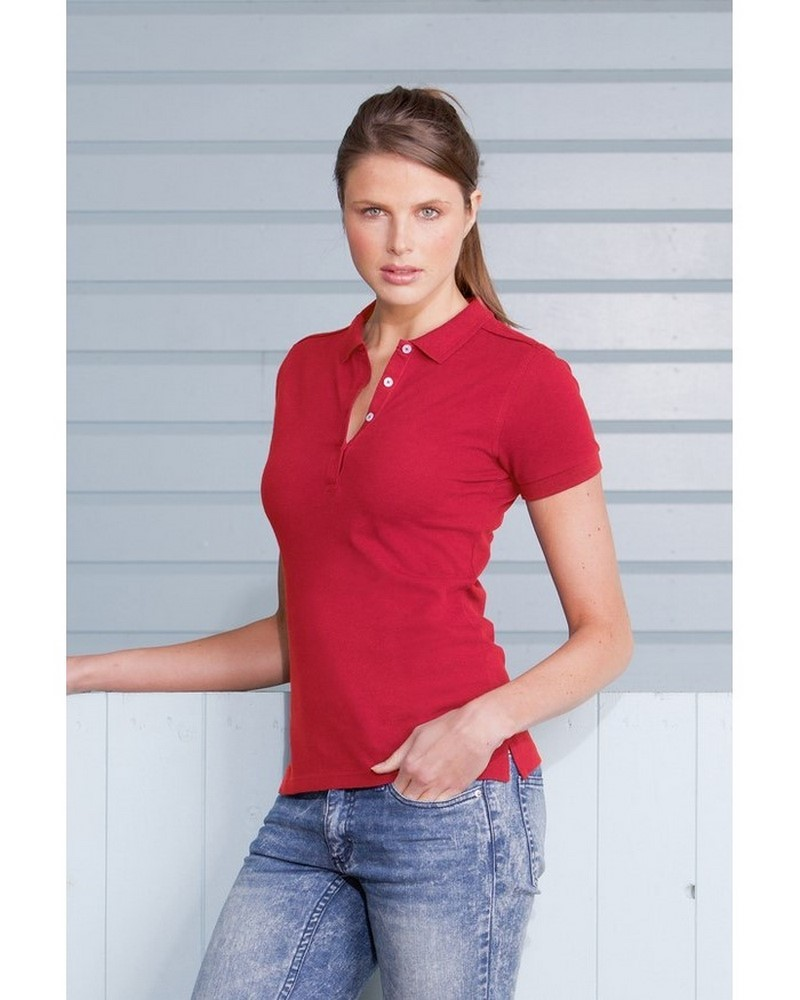 JE566F - Polo Stretch Women