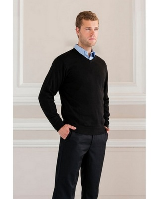 JE710M - Men V-Neck Knit Sweater