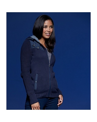 JN509 - Ladies' Knitted Winter Cardigan