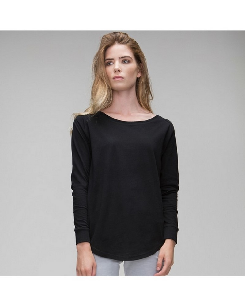 MAM97 - Women's Loose Fit Long Sleeve T
