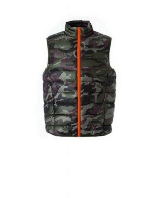 NANCY - Gilet in nylon 20D morbido e lucido