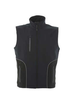 ORTISEI - Gilet in soft shell a due strati impermeabile -