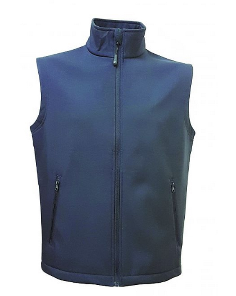 SANTANDER - Gilet in softh shell a due strati<br />impermeabile