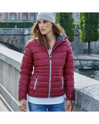 TJ9635 - Ladies' Hooded Zepelin Jacket
